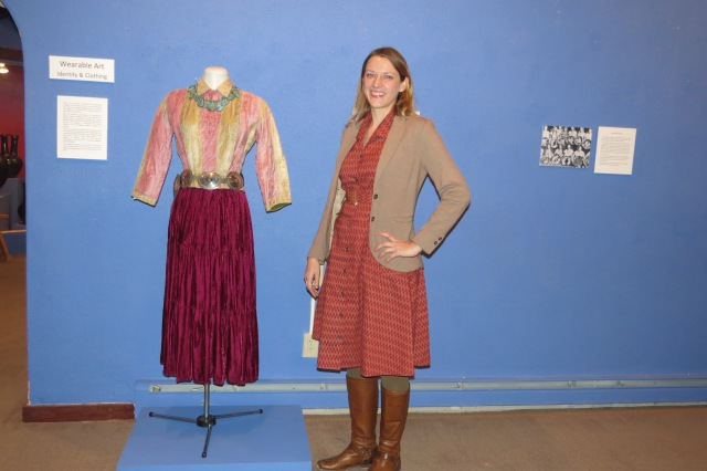 Caroline Jean Fernald at the wearable art